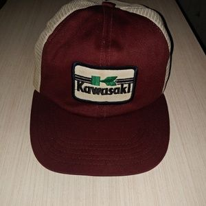 Vintage Kawasaki hat